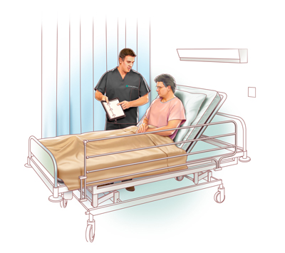 illustration of Patient and Rep