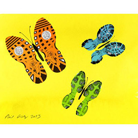 illustration of butterfly, insect
