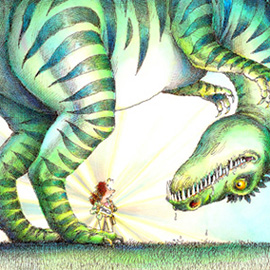 illustration of Pulling out a miracle to avoid disaster,