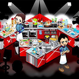 illustration of Digital, Vector, Anime, Editorial, People, Food/Beverage, Lifestyle