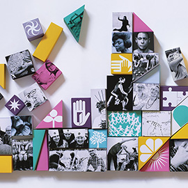 illustration of Collage, Conceptual, Cut Paper, Paper Sculpture, Editorial