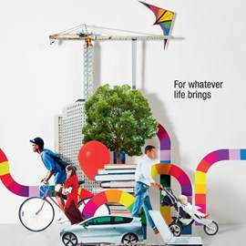 illustration of Cut Paper, Design, Paper Sculpture, Annual Report, Editorial, People, Sports