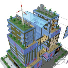 illustration of Design, Digital, Graphic, 3-D Rendering, Vector, Architecture, Charts, Information Graphics