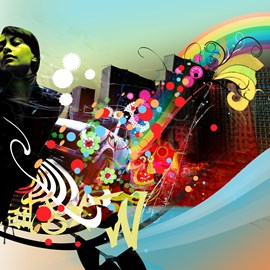 illustration of Digital, Figurative, Montage, Special Effects, Decorative, Fashion/Cosmetics, Music, Posters