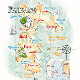 illustration of Line, Painterly, Watercolor, Leisure, Maps, Travel