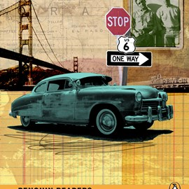 illustration of Collage, Design, Book Covers, Icons, Maps, Transportation, Lifestyle