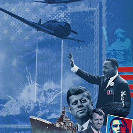 illustration of Collage, Digital, Photoillustration, Editorial, People, Political, Posters