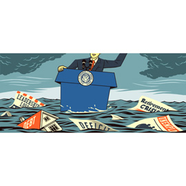 illustration of illustration for the Wall Street Journal water, sea, ocean,