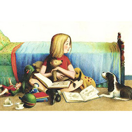 illustration of Colored Pencil, Watercolor, Children, Children's Books, Toys & Games, Lifestyle