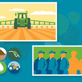 illustration of Digital, Graphic, Vector, People, Agriculture, Lifestyle