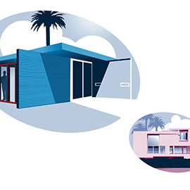 illustration of Digital, Graphic, Vector, Architecture, Lifestyle