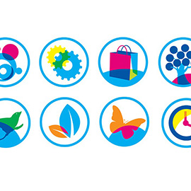 illustration of Digital, Graphic, Vector, Icons, Lifestyle