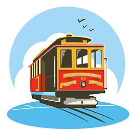 illustration of Digital, Graphic, Vector, Transportation