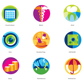 illustration of Digital, Gouache, Vector, Editorial, Icons, Information Graphics, Medical, Science, Scientific, Lifestyle