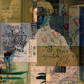 illustration of Collage, Conceptual, Digital, Fine Art, Mixed Media, Texture, Book Covers, Editorial, Historical, Portrait