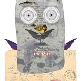 illustration of Caricature, Collage, Conceptual, Figurative, Mixed Media, 3-D Collage, Humor, Children's Books, People, Ethnic