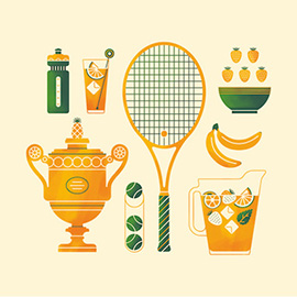illustration of Graphic, Vector, Health, Icons, Information Graphics, Leisure, Sports, Toys & Games, Lifestyle