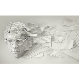illustration of Conceptual, Digital, Figurative, Paper Sculpture, Digital Sculpture, Editorial, Portrait
