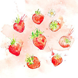 illustration of Line, Watercolor, Botanical, Editorial, Food, Information Graphics, Packaging, Product, Food/Beverage, Lifestyle