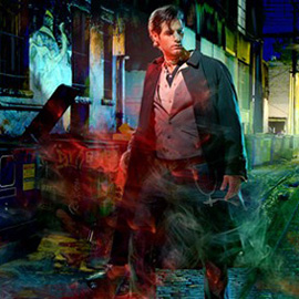 illustration of Digital, Figurative, Photoillustration, Realism, Action, Book Covers, Fantasy, Mystery, People, Urban