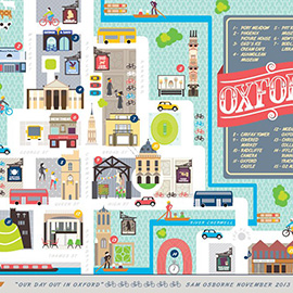 illustration of Design, Digital, Vector, Children, Maps, Vintage / Retro