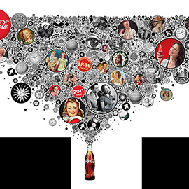 illustration of Collage, Design, Digital, Graphic, Pattern, Posters, Product, Food/Beverage, Vintage / Retro