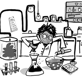 illustration of Science Lab