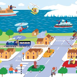 illustration of Street