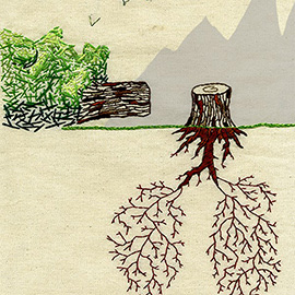 illustration of 3 of 4 Human Survival Series: Last Breath